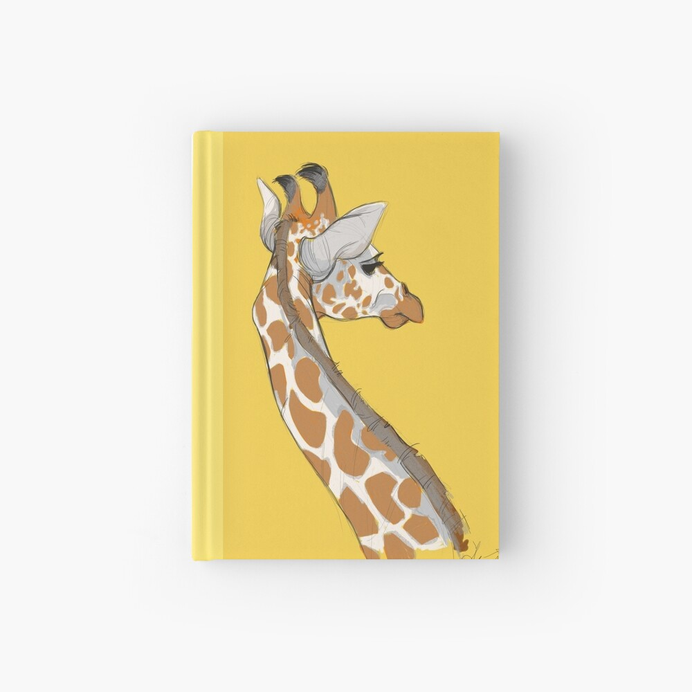 Giraffe Hardcover Journal