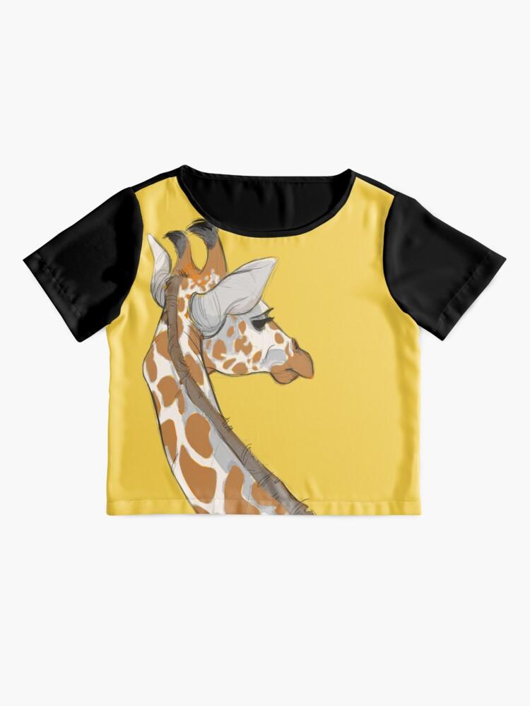 Alternate view of Giraffe Chiffon Top