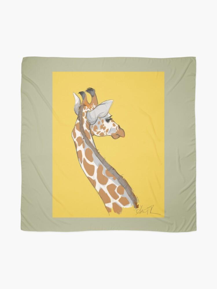 Alternate view of Giraffe Scarf
