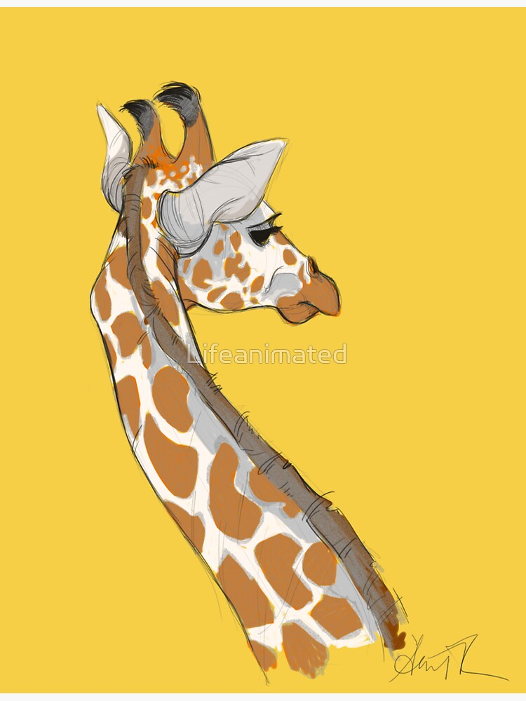 Giraffe by Lifeanimated