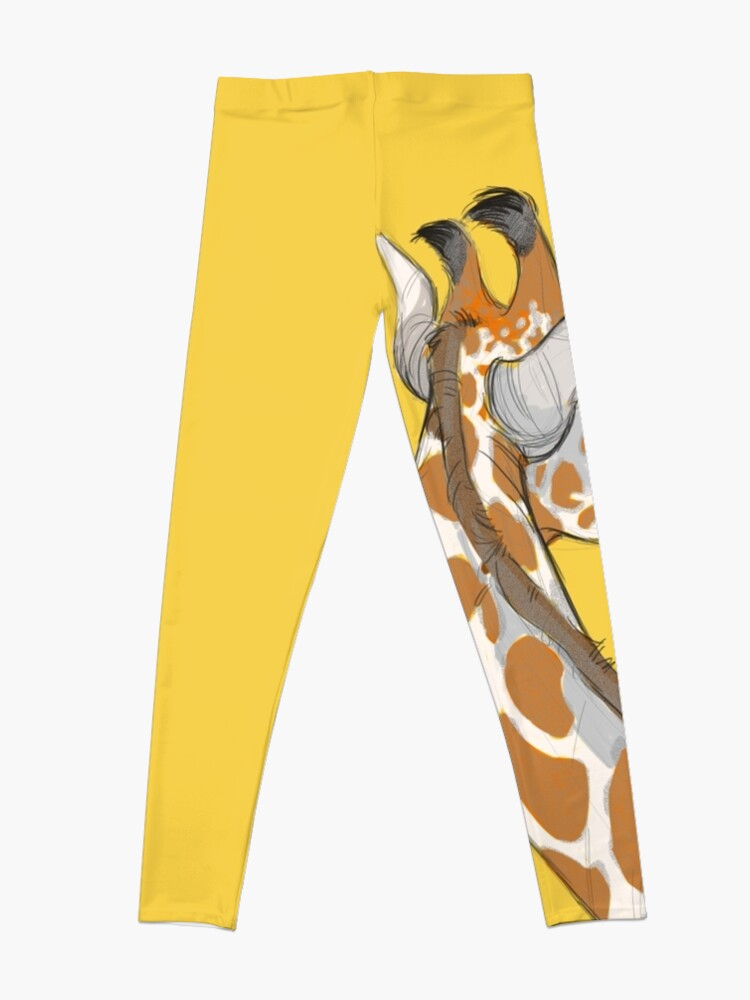 Alternate view of Giraffe Leggings