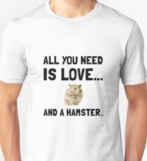Love And A Hamster T-Shirt