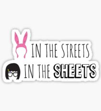 Tina in the Sheets Sticker