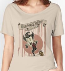 Don't Starve- Wilson Percival Higgsbury Women's Relaxed Fit T-Shirt