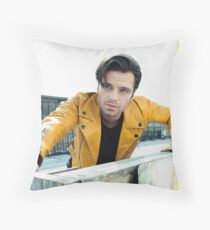 Augustan - Sebastian Stan Throw Pillow