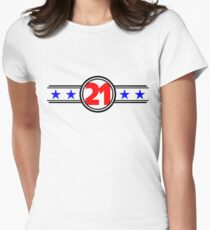 Twenty One Stars Womens Fitted T-Shirt