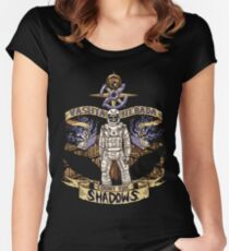 Count The Shadows Women's Fitted Scoop T-Shirt