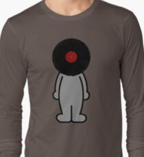 Vinylized!!! Vinyl Records DJ Music Man Long Sleeve T-Shirt