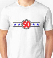 Fifty Stars Unisex T-Shirt