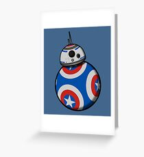 Captain Ameribot Greeting Card