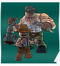 The Goon as Toy Bricks Poster