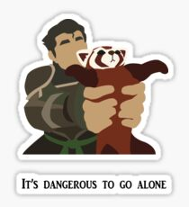Bolin and Pabu Sticker