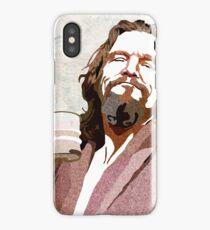 Big Lebowski DUDE Portrait iPhone Case/Skin