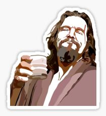Big Lebowski DUDE Portrait Sticker