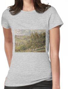 Claude Monet - Apple Blossom Womens Fitted T-Shirt