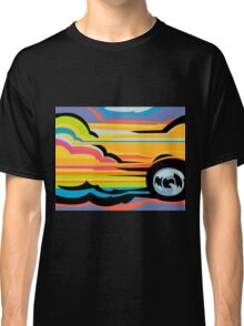 Fast Car - Abstract Graphic Classic T-Shirt