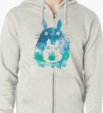 Forest Spirits  Zipped Hoodie