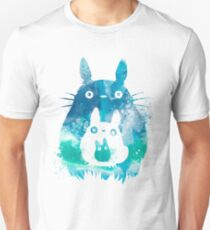 My Neighbor Totoro Watercolor  T-Shirt