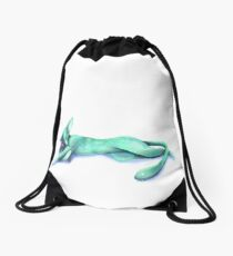 Snuggle Kitty Drawstring Bag