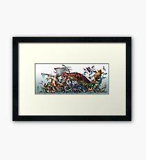Pocket Animals-Season 1 Framed Print