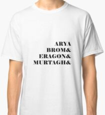 Eragon names Classic T-Shirt