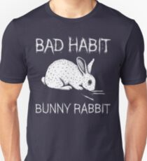 Bad Habit Bunny Rabbit T-Shirt