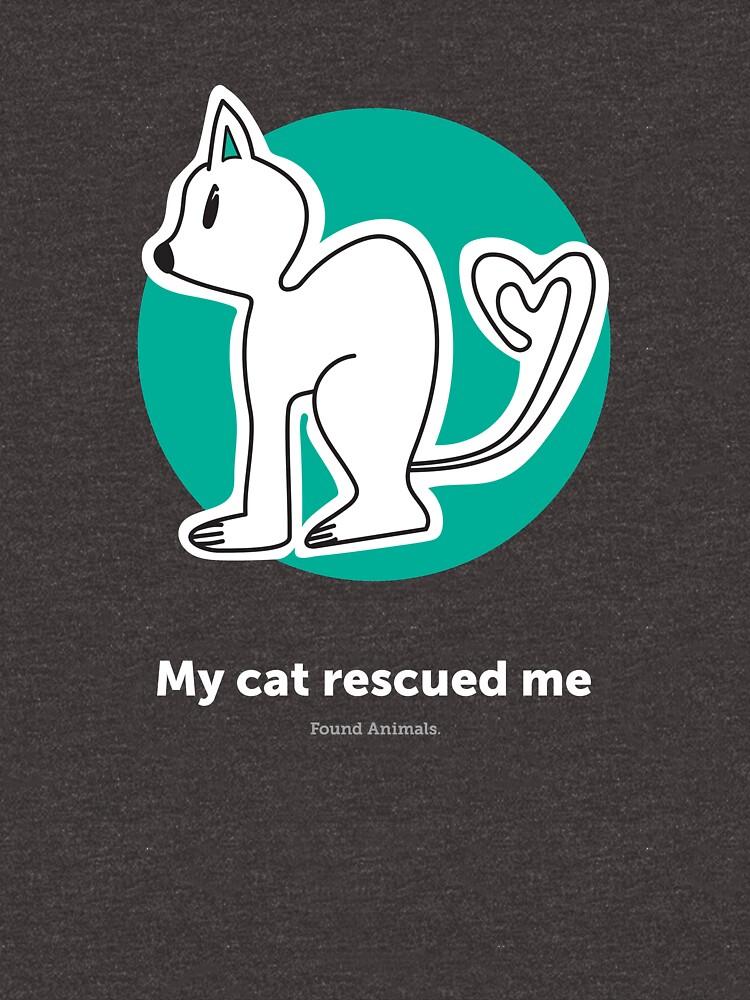 Found Animals I Heart Cats Hoodie by BuyFoundAnimals