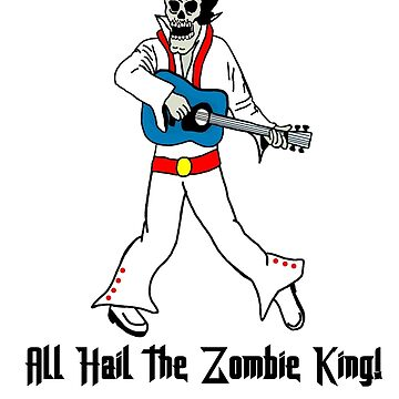 All Hail the Zombie King Musician by imphavok