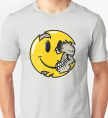 Smiley face skull T-Shirt