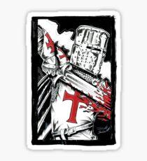 Templar Sticker