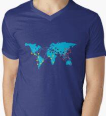 Pandemia Boardgames Men's V-Neck T-Shirt