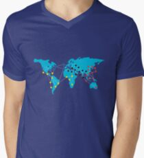 Pandemia Boardgames Men's V-Neck T-Shirt