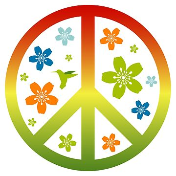 Love Peace Symbol Illustration by EveStock