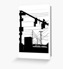 Wires Greeting Card