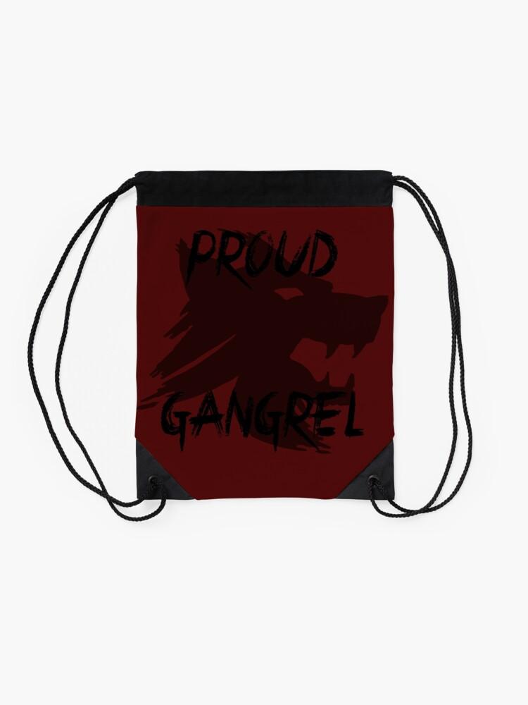 Alternative Ansicht von Vampir die Maskerade: Stolzer Gangrel Turnbeutel