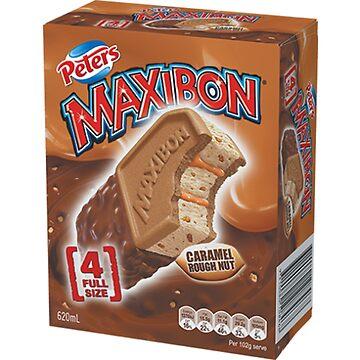 Maxibon Caramel Rough Nut by Creams