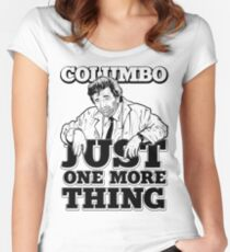 Columbo Women's Fitted Scoop T-Shirt