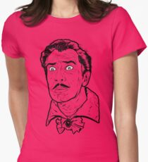Vincent Price Womens Fitted T-Shirt