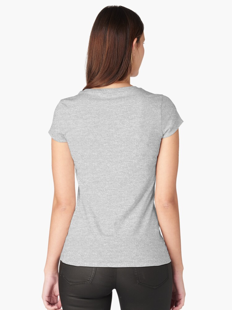 Quot Team Bucky Blue Quot Women S Fitted Scoop T Shirt By