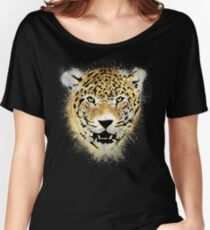 Tiger - Paint Splatters Dubs - Distressed Design Women's Relaxed Fit T-Shirt