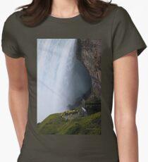 Smallness of Mankind (Niagara Falls) Women's Fitted T-Shirt
