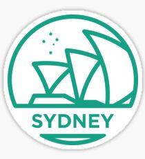 Sydney-Abzeichen Sticker