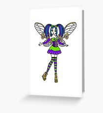 Steampunk Faerie Greeting Card