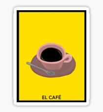 El Café Sticker