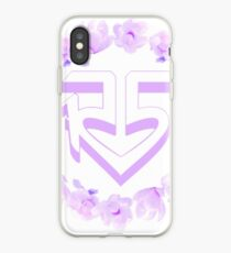 """R5"" Blumenkrone Logo iPhone-Hülle & Cover"