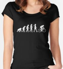 Funny Women's Cycling Shirt Women's Fitted Scoop T-Shirt