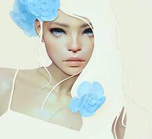 Flor Azul by cezarbrandao
