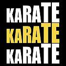 Karate Karate Karate by fishbiscuit