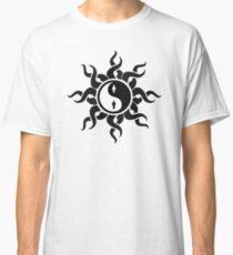 Yin Yang Man Woman Tribal Art Classic T-Shirt