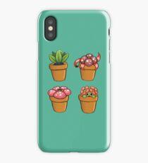 Poke-pot plants iPhone Case
